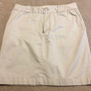 Gap khaki skirt